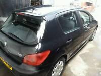 peugeot 307 1.4 petrol manual ,,cheap car bargain car