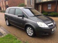 Vauxhall Zafira 1.7 CDTi ecoFLEX 16v Elite 5dr 2011 Spacious 7 Seater