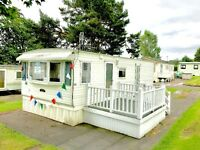 CHEAP STATIC CARAVAN FOR SALE IN SCOTLAND NEAR HELENSBURGH GLASGOW, AYRSHIRE GREENOCK ARGYLL & BUTE