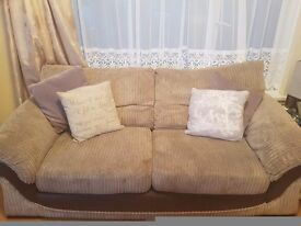 1x 4 seater 1x 3 seater