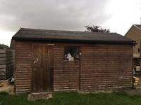Timber Garage for Sale