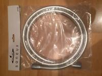 Saneux silver PVC shower 1.5m hose