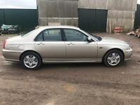 2003 ROVER 75 1.8 MOT UNTIL JULY