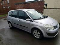 Renault Grande scenic dynamique 1.6 7 seater new mot cheap car bargain quick sale