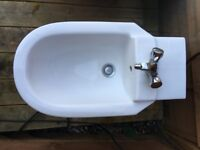 Luxury bidet - with taps and fittings