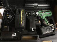 Hitachi 14.4v Drill