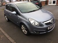 2009 vauxhall corsa sxi, 12 months mot, 2 owners, hpi clear Bargain