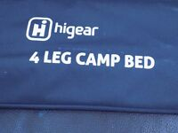 three camping beds