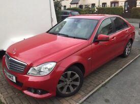 Mercedes c220 red 2.2