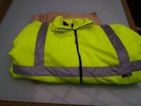 4 XL High Vis . Fleece . Warrior make