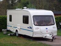 2005 Bailey Ranger 500/5. 5 Berth Single Axle Family Touring Caravan.