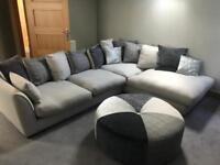 Ariana large corner group sofa