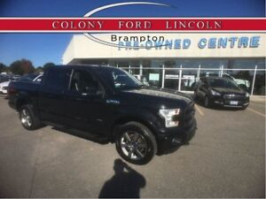 2015 Ford F-150 LARIAT SPORT PKG, TWIN ROOF, 1.9% FINANCE AVAIL!