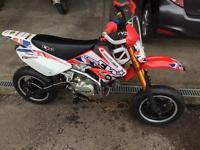 Cw140s supermoto pit bike