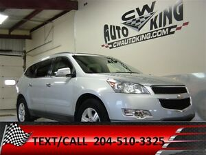 2011 Chevrolet Traverse 1LT / Roof / Quads / Rear Climate / 7 Pa