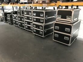 Multiple Flightcases - individual or all together
