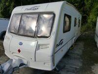 Bailey Provence caravan 2005 4/5/6 berth caravan twin dinette