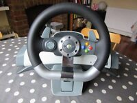 XBOX 360 Steering Wheel Unit