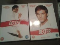 DEXTER DVD Collection boxsets for sale.