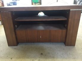 TV stand in Walnut. John Lewis item