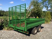 Twin Axel Tipping Trailer