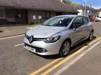 2013 Renault Clio Dynamique MediNav 1.2 16v 75 bhp.