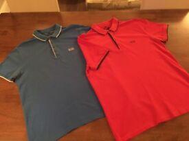 Men's large Hugo boss polo shirts