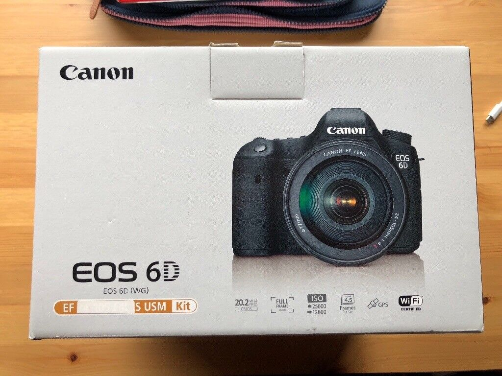 Canon 6D Full Frame DSLR (Body) | in Fareham, Hampshire | Gumtree