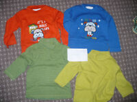 Bundle of 30 clothes for boy 6-9mths/ 6-9 mths. In very good and good condition.