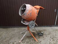 Belle Minimix 150 Cement Mixer with Stand - 110v