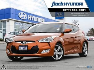 2013 Hyundai Veloster Base MANUAL | Back up camera | Push but...