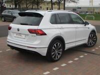 Volkswagen Tiguan R LINE TDI BMT (white) 2017-09-30