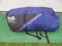 Khyam Ridgi-Pod Excelsior with groundsheet & bedroom unit Camping Tent.Spares or repairs.