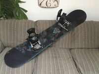 Rome garage rocker 154 with ride LX bindings in good condition.