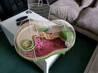 Hamster Cage - basically new