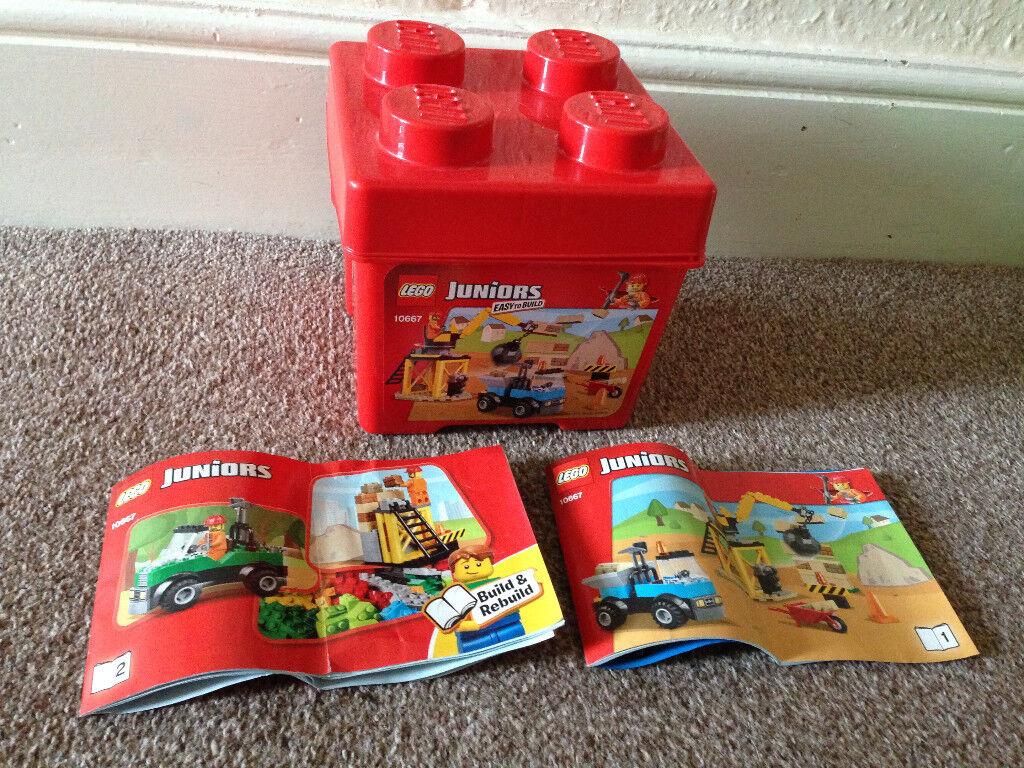 Lego juniors construction