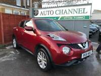 Nissan Juke 1.6 N-Connecta XTRONIC CVT 5dr£11,285 p/x welcome TOP OF THE RANGE! NEW MOT