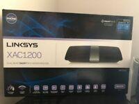 LINKSYS XAC1200 DUAL BAND SMART WI-FI MODEM ROUTER