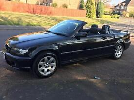 Perfect condition BMW 320d convertible