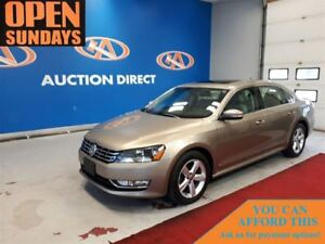 2015 Volkswagen Passat 2.0 TDI LEATHER! NAVI! SUNROOF! FINANCE N