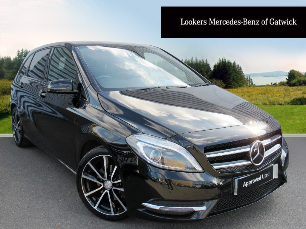 mercedes benz b class b200 cdi blueefficiency sport black 2014 08 04 in crawley west sussex. Black Bedroom Furniture Sets. Home Design Ideas