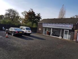 Hand car wash valeting detailing business for sale. Ideal car sales pitch