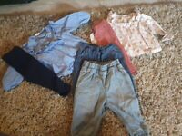 H&M girls bundle age 6-9months