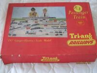 Train Set plus appropriate railway furniture