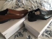 2 pairs of brand new men's shoes.