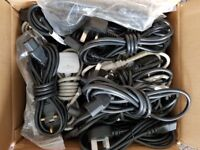 50 x PC / Monitor Power Cables