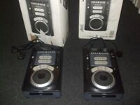 NUMARK AX15 9 DJ TABLETOP CD PLAYERS