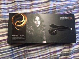 Pro curl perfect curler in box