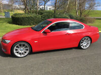 BMW 325i E92/ RARE RED AUTO COUPE / HEAD TURNER / LONG MOT