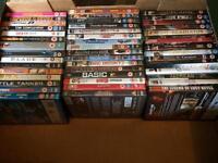 Bundle of 46 DVDs